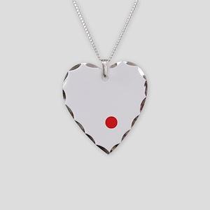 Japan Soccer Necklace Heart Charm