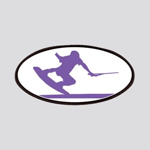 Purple Wakeboard Nose Press Patches
