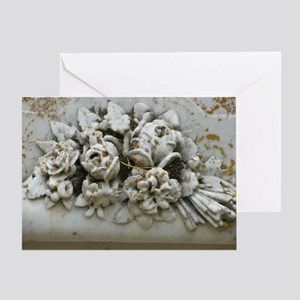 Stone Bouquet Greeting Card