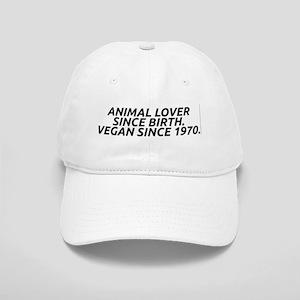 Vegan since 1970 Cap