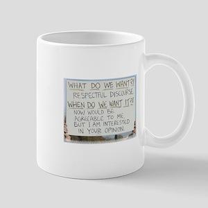 Respectful Discourse Mug