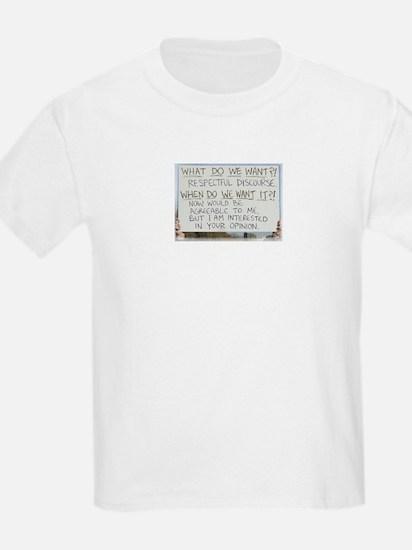 Respectful Discourse T-Shirt