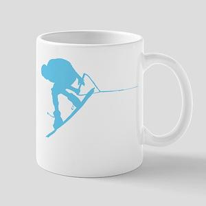 Blue Wakeboard Back Spin Mug