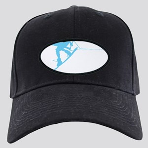 Blue Wakeboard Back Spin Black Cap