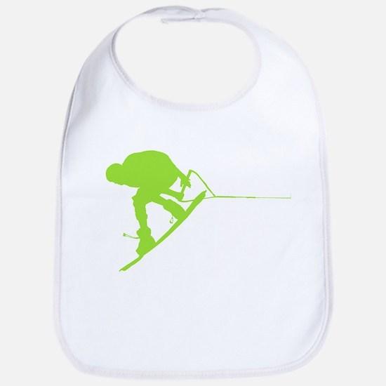 Green Wakeboard Back Spin Bib