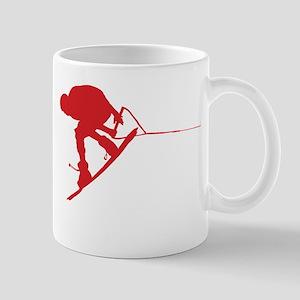Red Wakeboard Back Spin Mug
