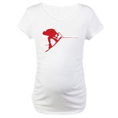 Red Wakeboard Back Spin Shirt
