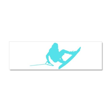 Blue Wakeboard 360 Handle Pas Car Magnet 10 x 3