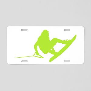 Green Wakeboard 360 Handle Pa Aluminum License Pla