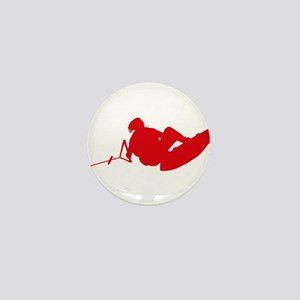 Red Indy Tantrum Mini Button