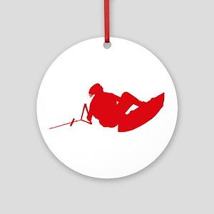 Red Indy Tantrum Ornament (Round)