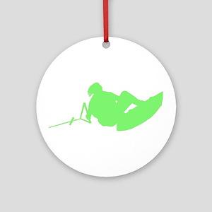 Green Indy Tantrum Ornament (Round)