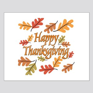 Happy Thanksgiving Small Poster