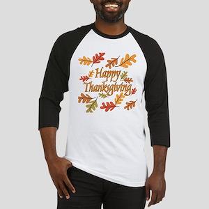 Happy Thanksgiving Baseball Jersey