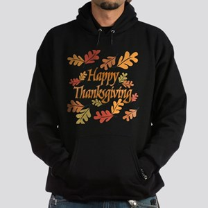 Happy Thanksgiving Hoodie (dark)