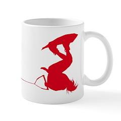 Red Wakeboard Invert Handle P Mug