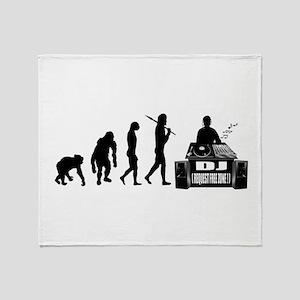 DJ Evolution Throw Blanket