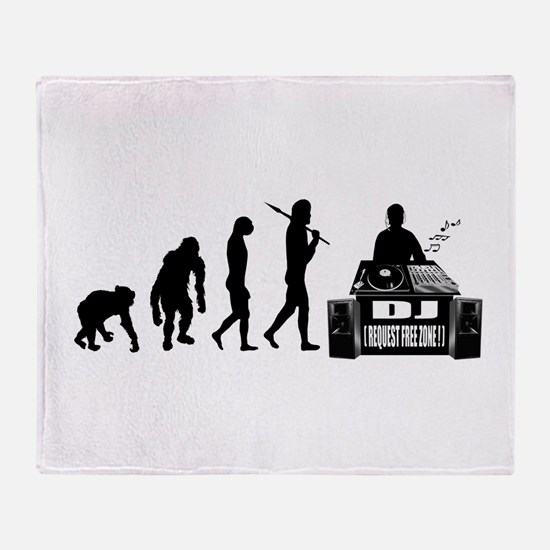 DJ Evolution Throw Blanket