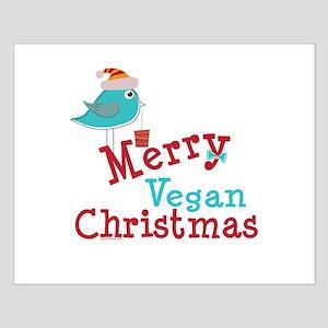 Merry Vegan Christmas Small Poster