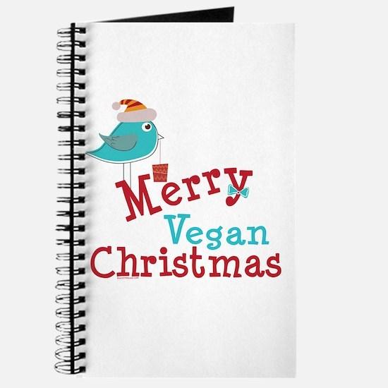 Merry Vegan Christmas Journal