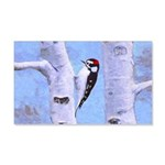 Downy Woodpecker 20x12 Wall Decal