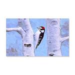 Downy Woodpecker 20x12 Wall Decal