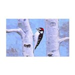 Downy Woodpecker 35x21 Wall Decal