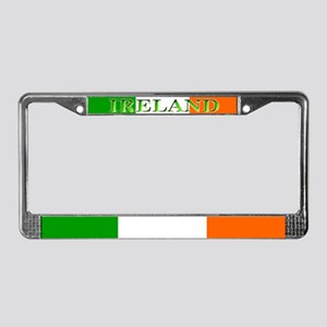 Ireland Irish Blank Flag License Plate Frame