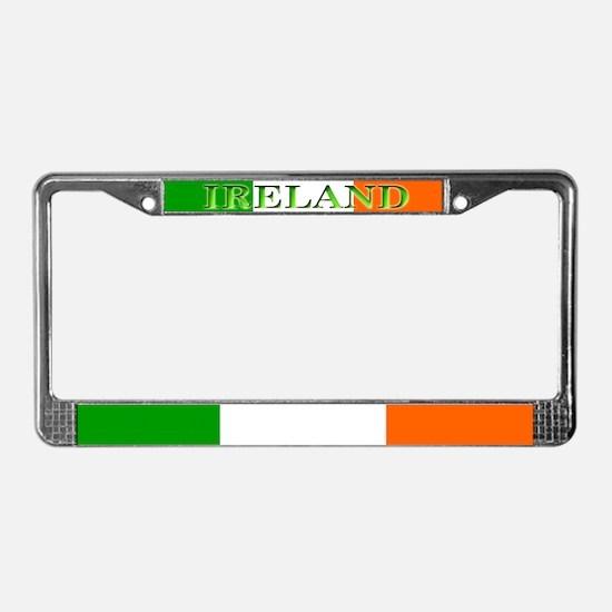 Ireland Irish Blank Flag License Plate Frame