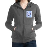 Downy Woodpecker Women's Zip Hoodie