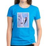 Downy Woodpecker Women's Dark T-Shirt