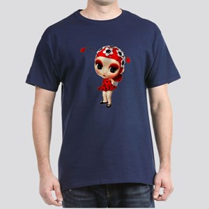 Little Miss Ladybug Dark T-Shirt