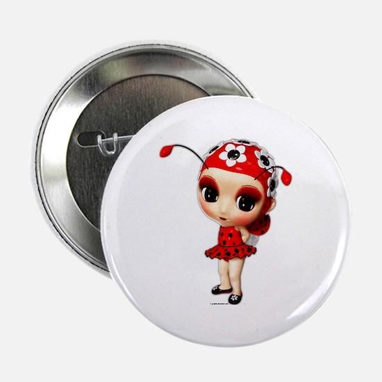 "Little Miss Ladybug 2.25"" Button"