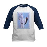 Downy Woodpecker Kids Baseball Jersey