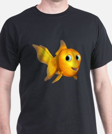 Goldie Toon Goldfish T-Shirt