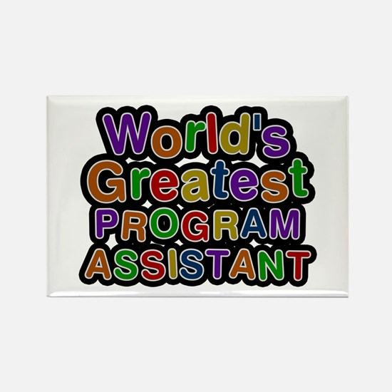 World's Greatest PROGRAM ASSISTANT Rectangle Magne