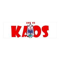 Zis is Kaos! 42x14 Wall Peel