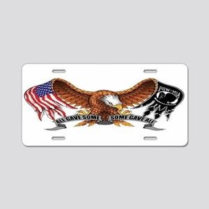POW MIA Aluminum License Plate