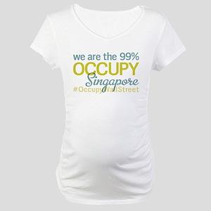 Occupy Singapore Maternity T-Shirt