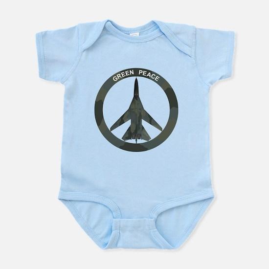 FB-111A Peace Sign Infant Bodysuit