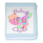 Bobai China Map baby blanket