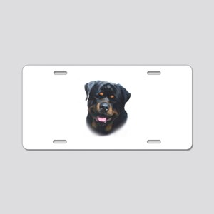 General -Rottweiler Head ( Ma Aluminum License Pla