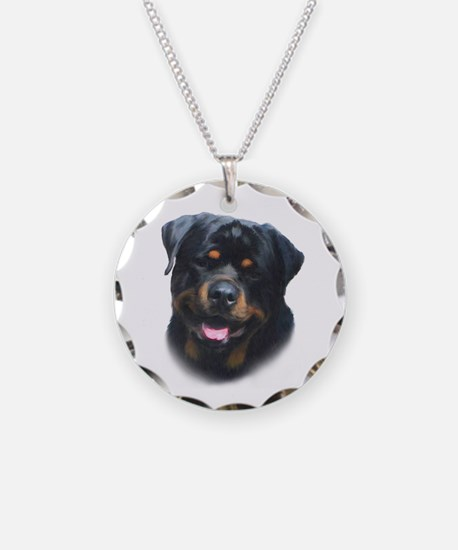 General -Rottweiler Head ( Ma Necklace