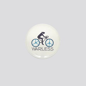 Peace War Biking Mini Button