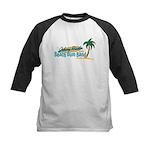 Beach Bum Kids Baseball Jersey
