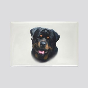 A Special Rottweiler Rectangle Magnet