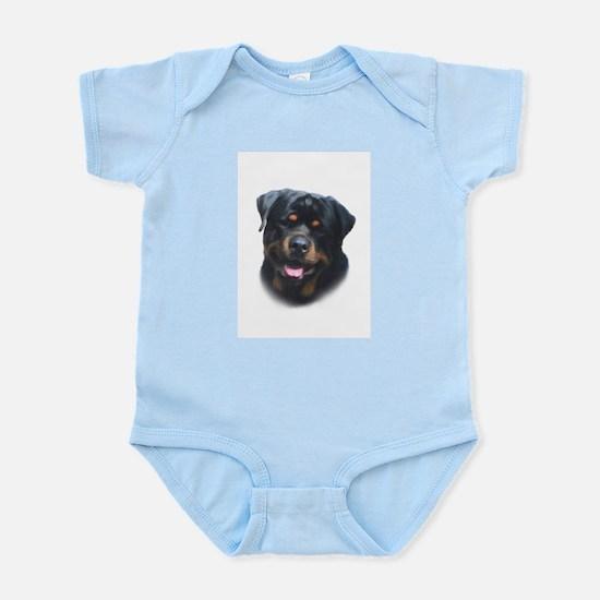 A Special Rottweiler Infant Bodysuit