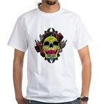 Sugar Skull White T-Shirt