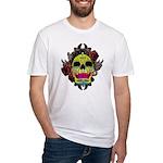 Sugar Skull Fitted T-Shirt