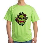 Sugar Skull Green T-Shirt